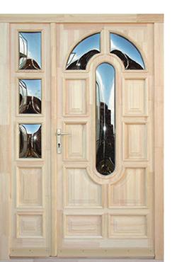 Tömörfa első osztályú bejárati ajtók