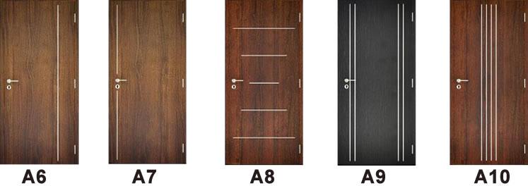 dekorfóliás beltéri ajtó alucsikozási opciók