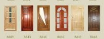 Bejárati ajtó tömörfából